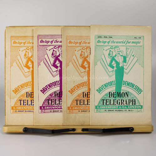 The Demon Telegraph, 4 issues, 1964-5