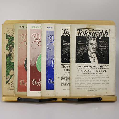 The Demon Telegraph, 7 issues, 1943-46
