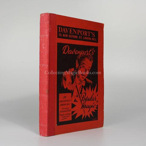 Davenport's Popular Magic, 1960 Catalogue