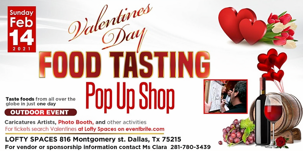 TOS @ Valentines Wine & Food Tasting