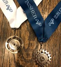EVE 5K & DAY 5K medals