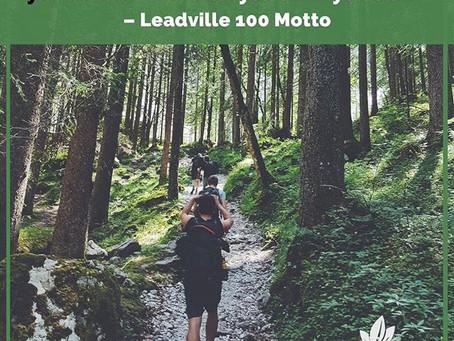 2013 Leadville 100 Race Report