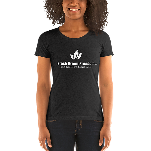 Bella + Canvas: Super Soft Triblend Ladies' Shirt (Runs Small)