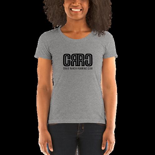 CRRC Bella + Canvas: Super Soft Triblend Ladies' Shirt (Runs Small)