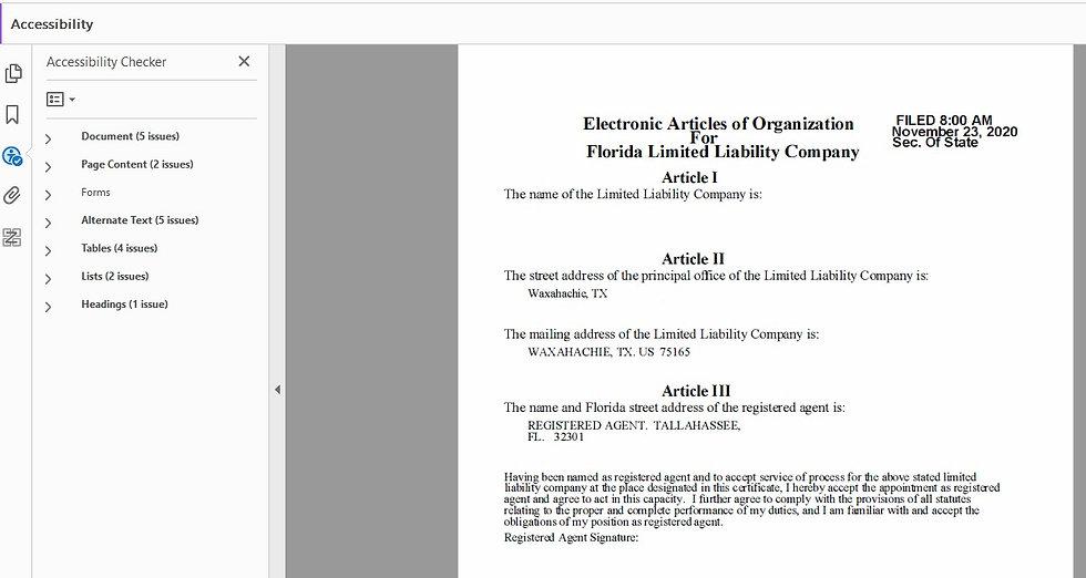 LLC Before ADA Compliance
