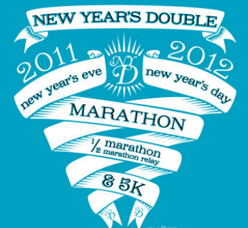 Collin County's First...and Second...Marathon, and More, at the New Years Double