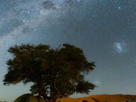 El cielo visible durante el Festival de Astronomía Villa de Leyva.