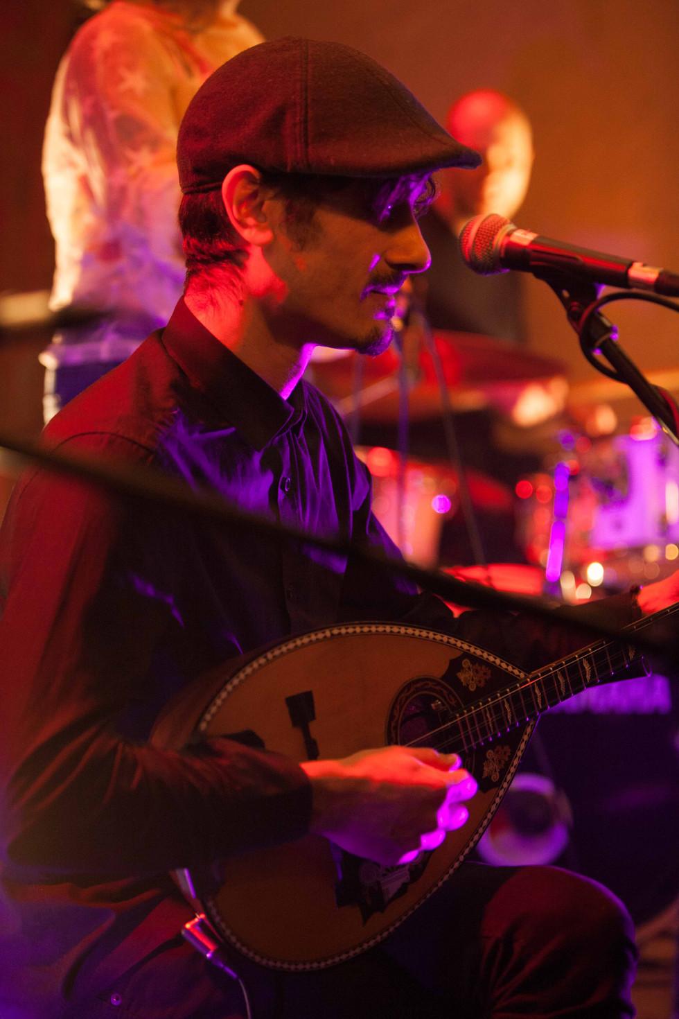 bazouki player London