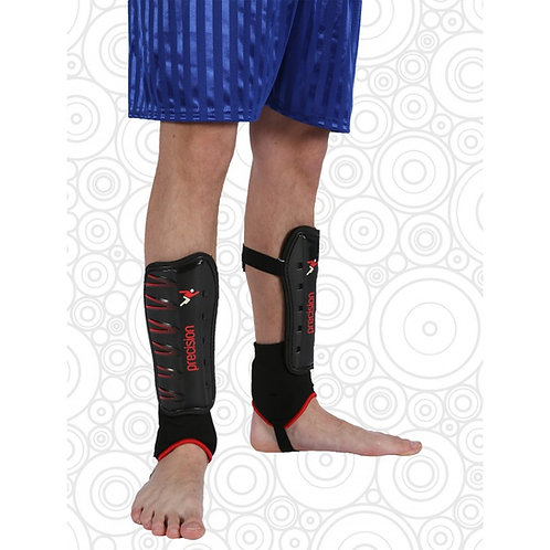 PE - Shin Pads w/Ankle Support