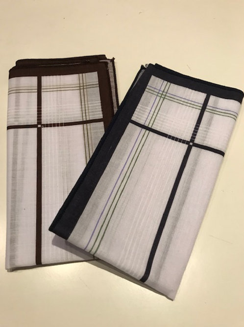 MENS LARGE PATTERNED HANDKERCHIEFS - SOLD SEPARATELY