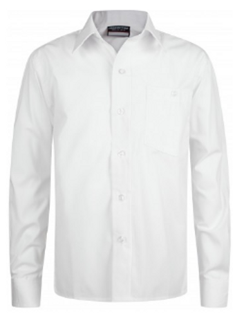 Twin Pack - Long Sleeved Shirt - White