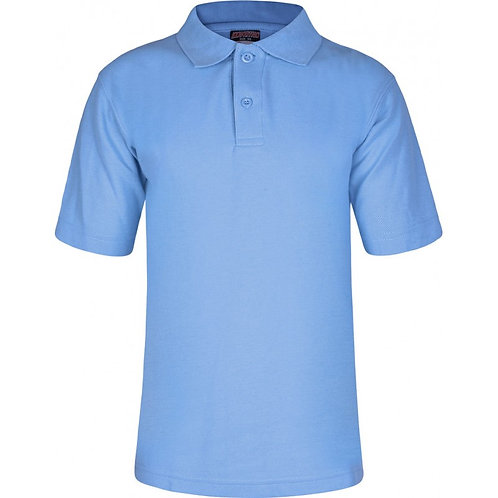 De Vere Primary - Polo Shirt Sky Blue (Non-Logo)