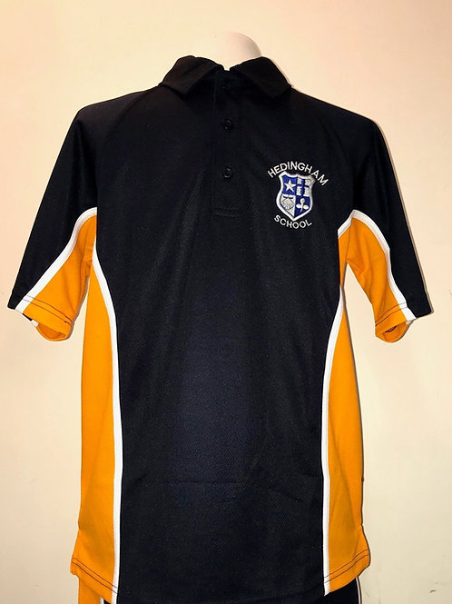 NEW - BOYS SPORTS POLO (SHORT SLEEVE) WITH LOGO EMBROIDERY INCLUDED
