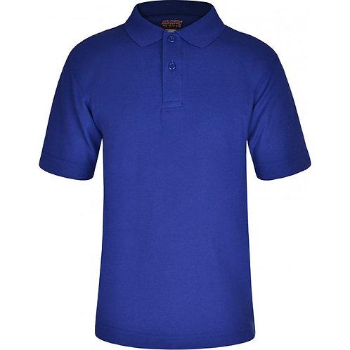 GOSFEILD Polo Shirt for PE ( in Royal Blue) - Includes Logo