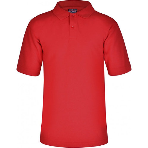 De Vere Primary - Polo Shirt Red (Non-Logo)