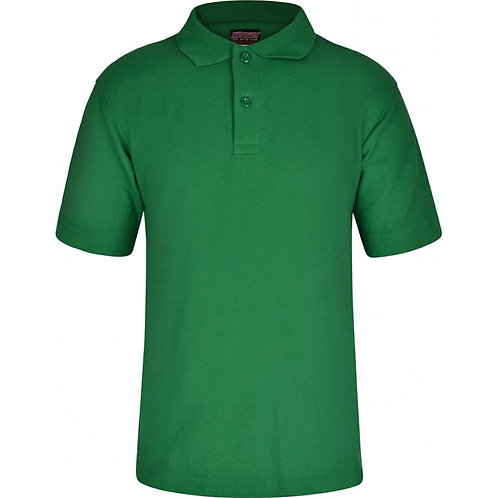 De Vere Primary - Polo Shirt Green (Non-Logo)