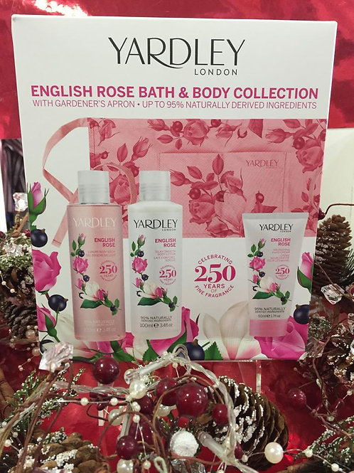 YARDLEY- English Rose Bath & Body Collection