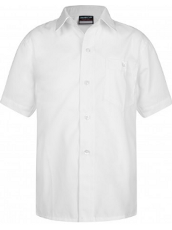 Twin Pack - Short Sleeved Shirt - White