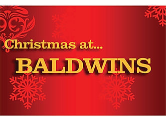 Christmas at Baldwins - Boards 600mm x 4
