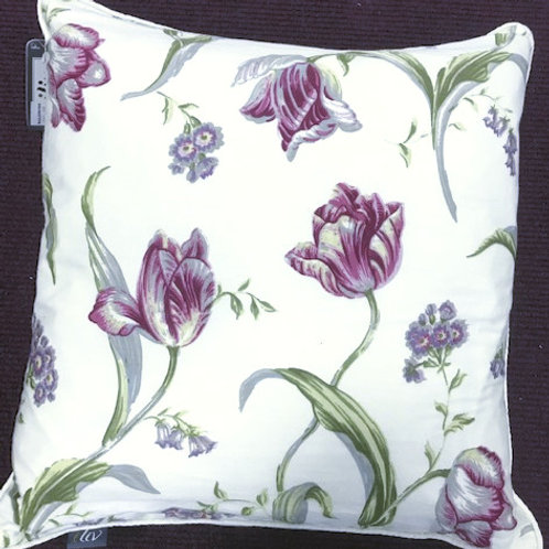 LUXURY CUSHION COVER WITH FEATHER FILLING
