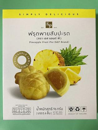 S&P Pineapple Fruit Pie 96g.