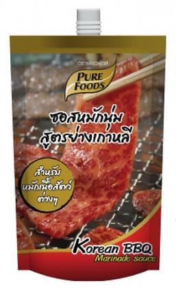 Purefoods Korean BBQ Marinate Sauce 500ml.