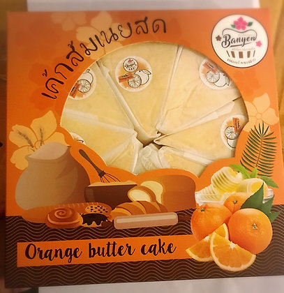 Chiffon Orange Cake by Nongpongnok  (8   Pcs. )