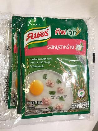 Knorr Jusmine Rice Porridege With Seaweed 35g. (Pack 4)