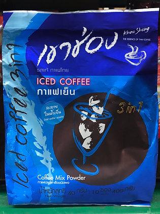 KhaoChong 3in1 Iced Coffee 400g. (40g.x10Pcs.)