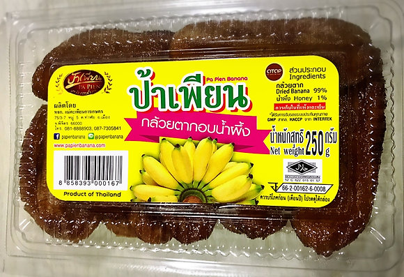Dried Banana with Hunny 250g.