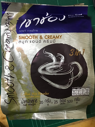 Khao Chong - SMOOTH & CREAMY 500g. (20g.x25 Pcs.)