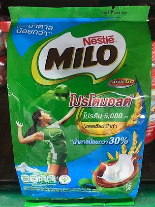 MILO 3in1 Low Sugar 30% 375g. (25g. x 15Pcs.)