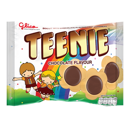TEENIE Biscuit with Chocolate Flavour 45g.