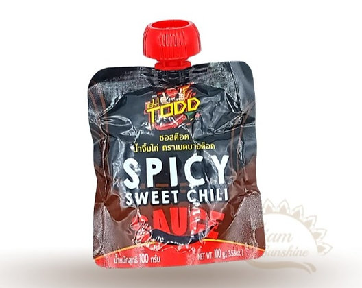TODD Spicy Sweet Chili Sauce 100g.