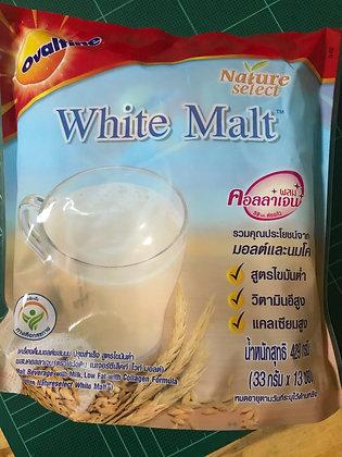 Ovaltine White Malt 429g. (33g. x 13 Pcs.)