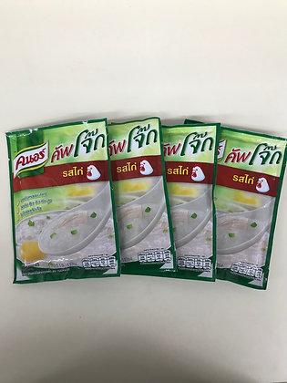KNORR Jok Chiken Flavor Instant Jasmine Rice Size 35g. Pack 4
