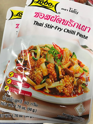 LOBO Thai Stir-Fry Chilli Paste 50g. (Pack 2)