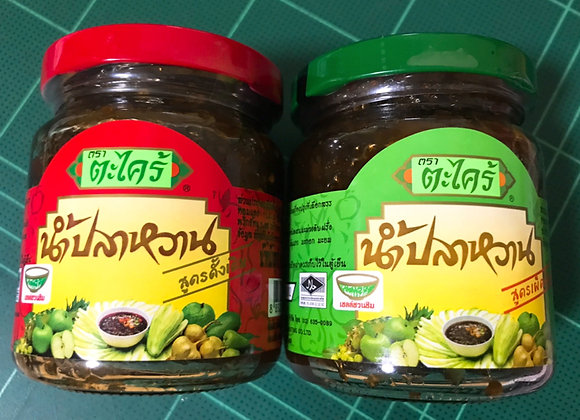 Nam Pla Wan - Mango Dipping Sauce 215g. (Pack 2)