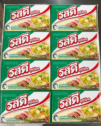 Cube Ros Dee Pork Soup 20g. x 24 Pcs.