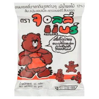Jolly Bear Jelly 55g.