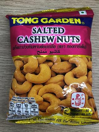 Thong Garden Salted Cashew Nuts 40g.