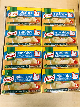 Cube Knorr Chicken Soup 20g. x 24 Pcs.