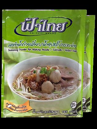 Seasoning Powder for Making Noodle/Sukiyaki/Hotpot Soup Size 165g. Pack 2