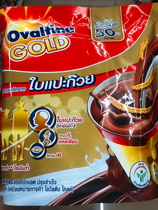 OVALTINE GOLD with Ginkgo leaves 390g. (30g.x13 Pcs.)