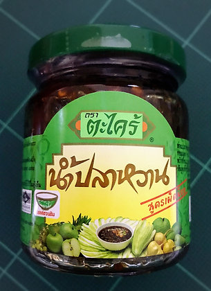 Nam Pla Wan - Mango Dipping Sauce 215g. (Mind Hot)