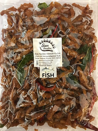 Jing Jung Fried Fish with Thai Herb 200g.