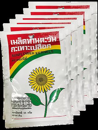 Sunflower Kernels Size 25g. (Pack 6)