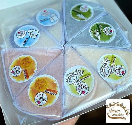 Chiffon Cake Mixed Flavour (8 Pcs.)