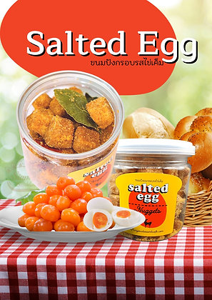 After You Salted Egg Nuggets 120g.