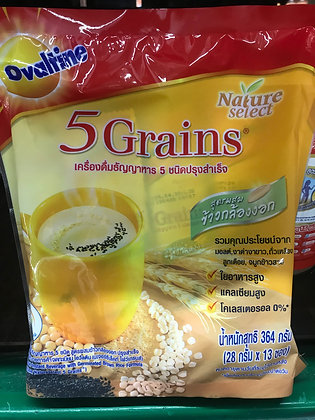 OVALTINE 5 Grains 364g. (28g. x 13Pcs.)
